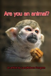 Are you an animal? Article