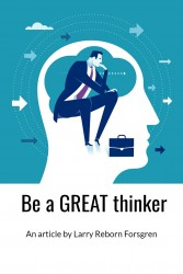 Be a great thinker Article